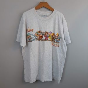 RARE Vintage WDW 7 Dwarfs T-shirt Small